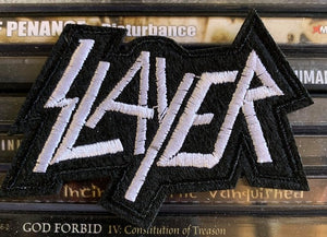 Slayer Embroidered Patch