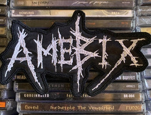Amebix Embroidered Patch