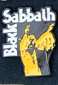Black Sabbath Vol. 4 Metal Badge