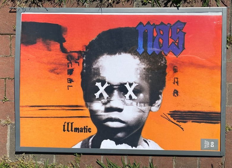 Nas Illmatic Poster