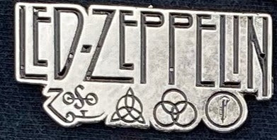Led Zeppelin Metal Badge
