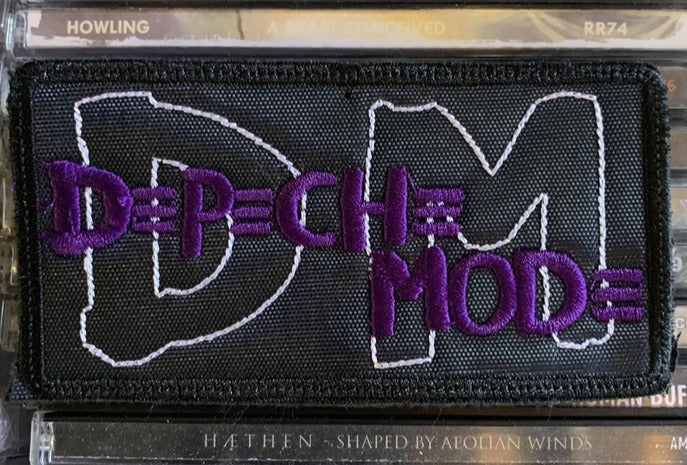Depeche Mode Emboidered Patch