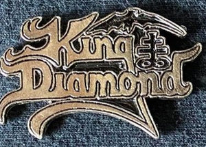King Diamond Metal Badge