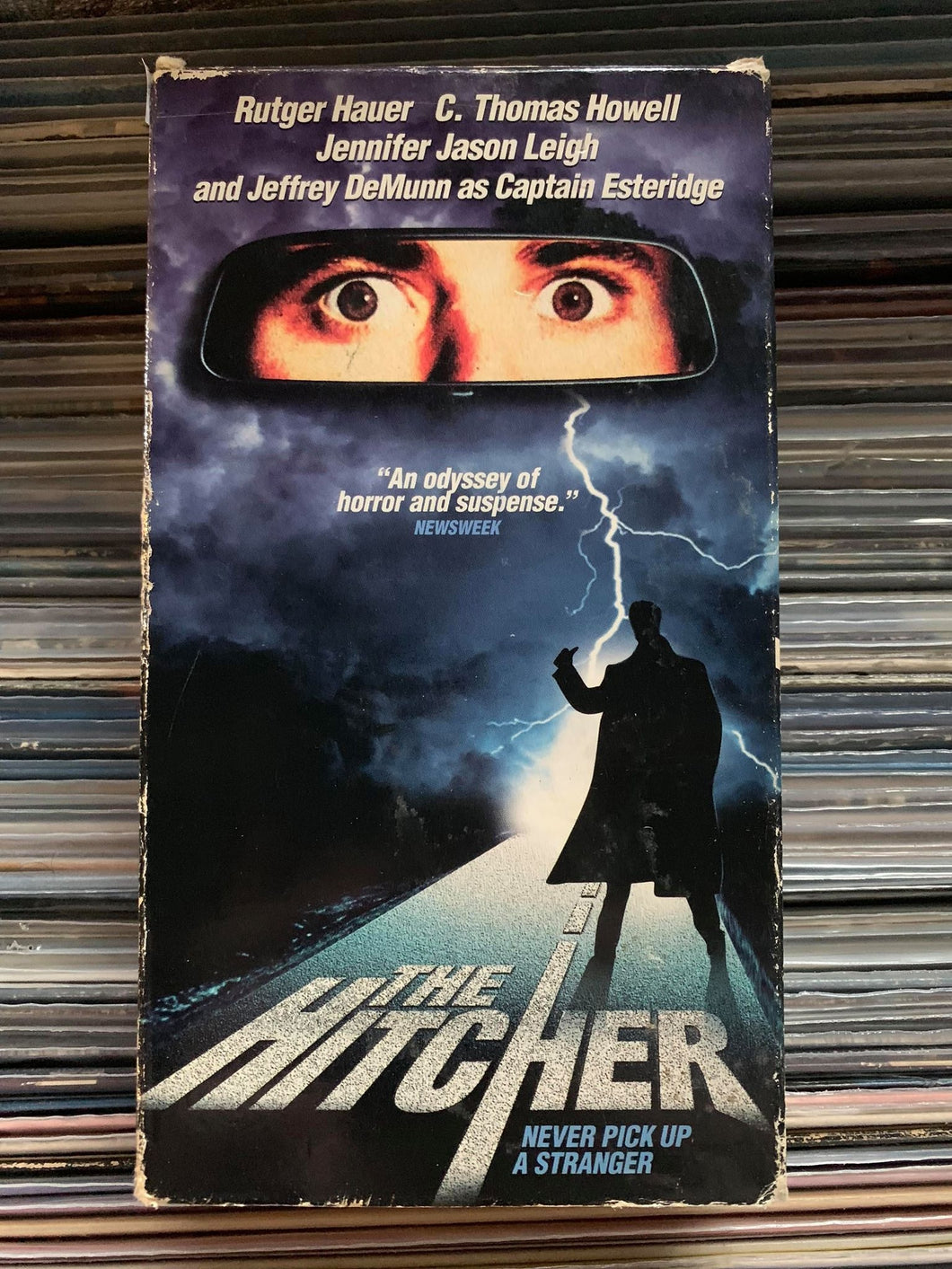 The Hitcher VHS