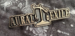 Aural Exile Metal Badge