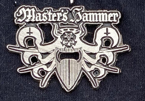 Master's Hammer Metal Badge