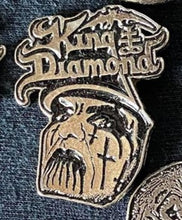 Load image into Gallery viewer, King Diamond Metal Badge