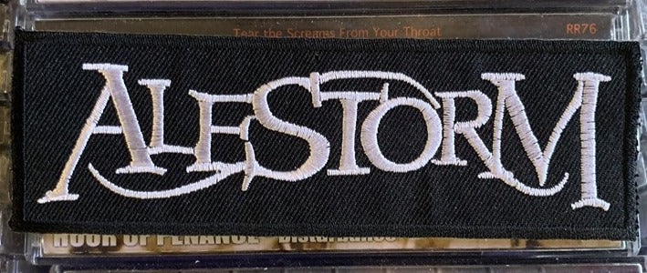 Alestorm Embroidered Patch