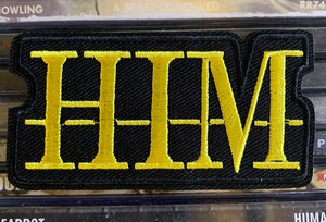 HIM Embroidered Patch