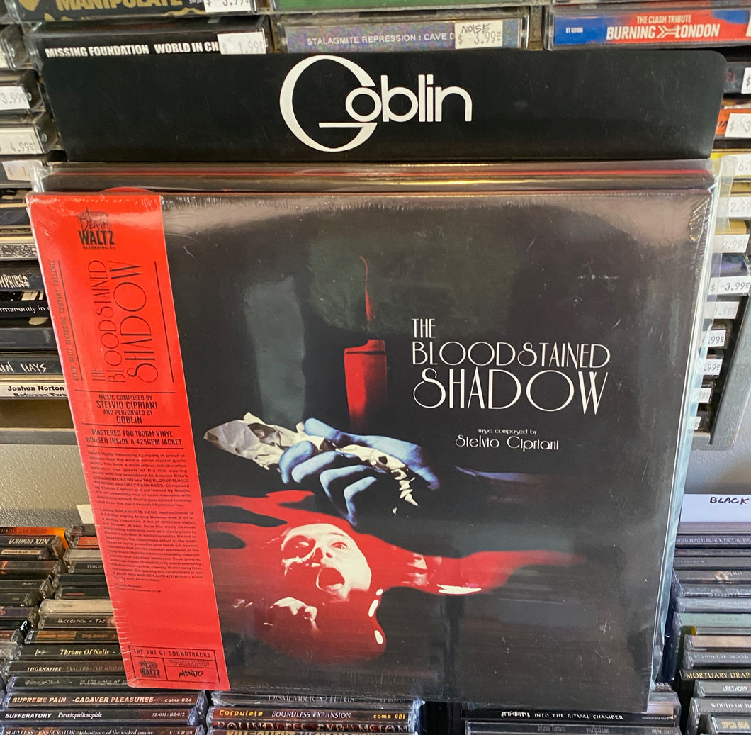 Goblin + Stelvio Cipriani - The Bloodstained Shadow OST