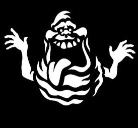 GhostBusters Slimer Decal