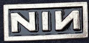 NIN Metal Badge
