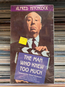 The Man Who Knew Too Much VHS