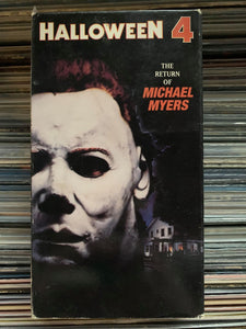 Halloween 4 - The Return of Michael Myers VHS