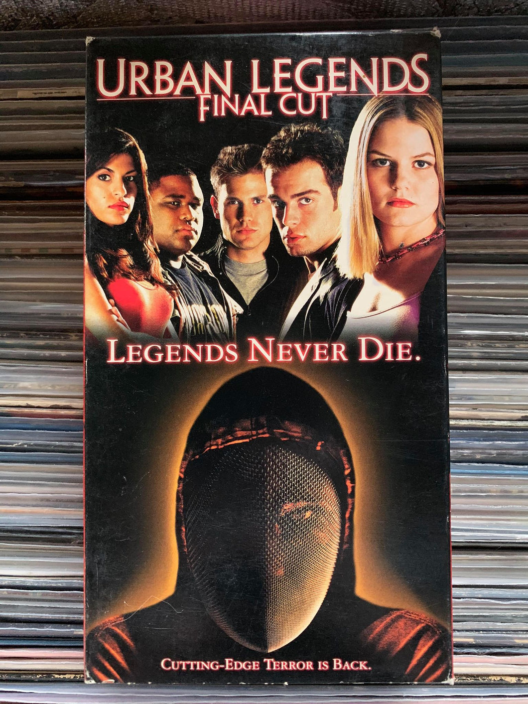 Urban Legends Final Cut VHS