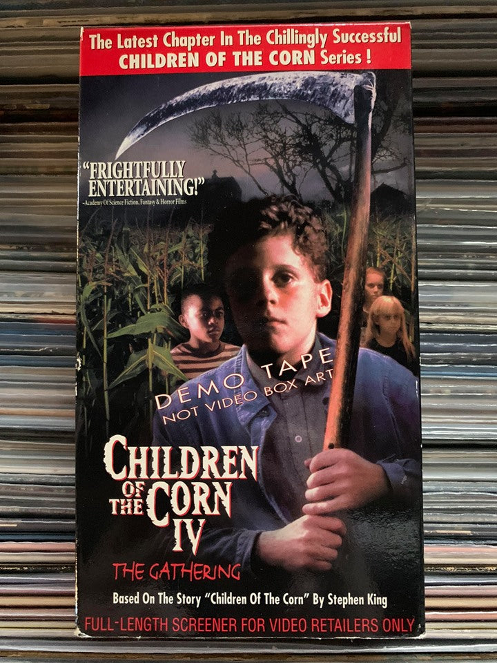 Children of the Corn IV: The Gathering VHS