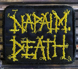 Napalm Death Embroidered Patch