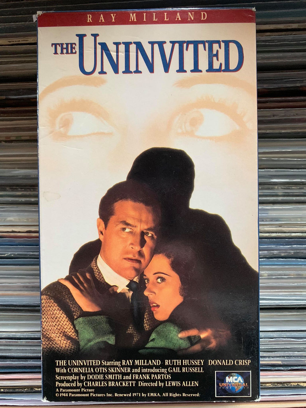 The Uninvited VHS