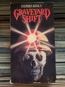 Graveyard Shift VHS