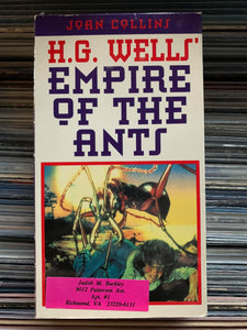 Empire of the Ants VHS