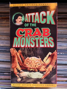 Attack of the Crab Monsters VHS
