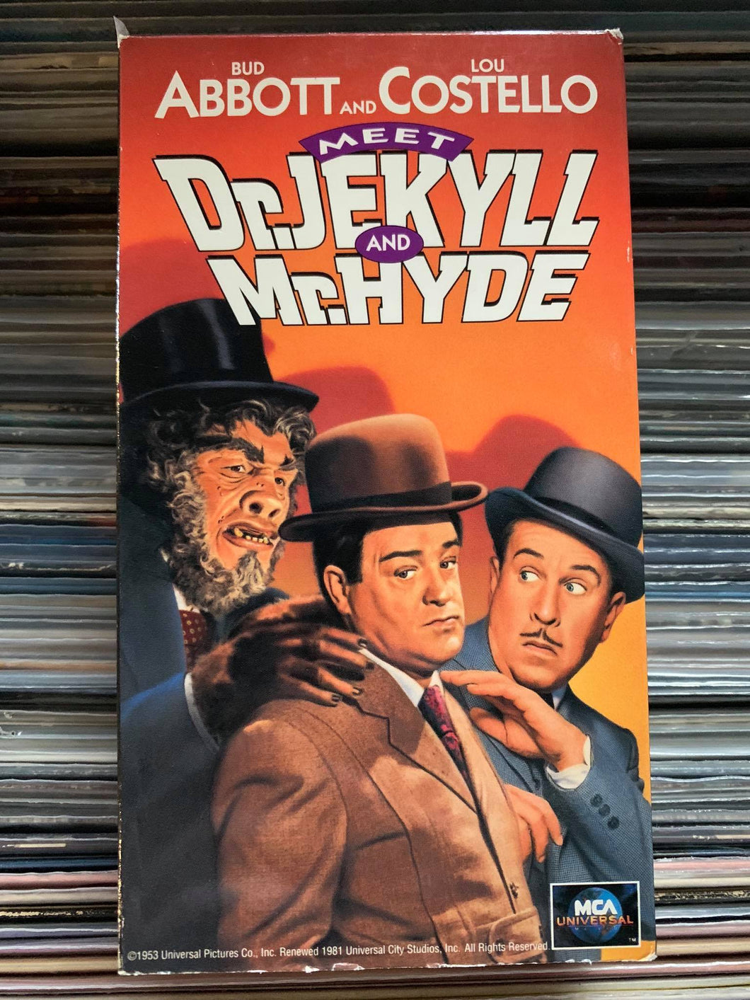 Dr Jekyll and Mr. Hyde (Abbott and Costello) VHS