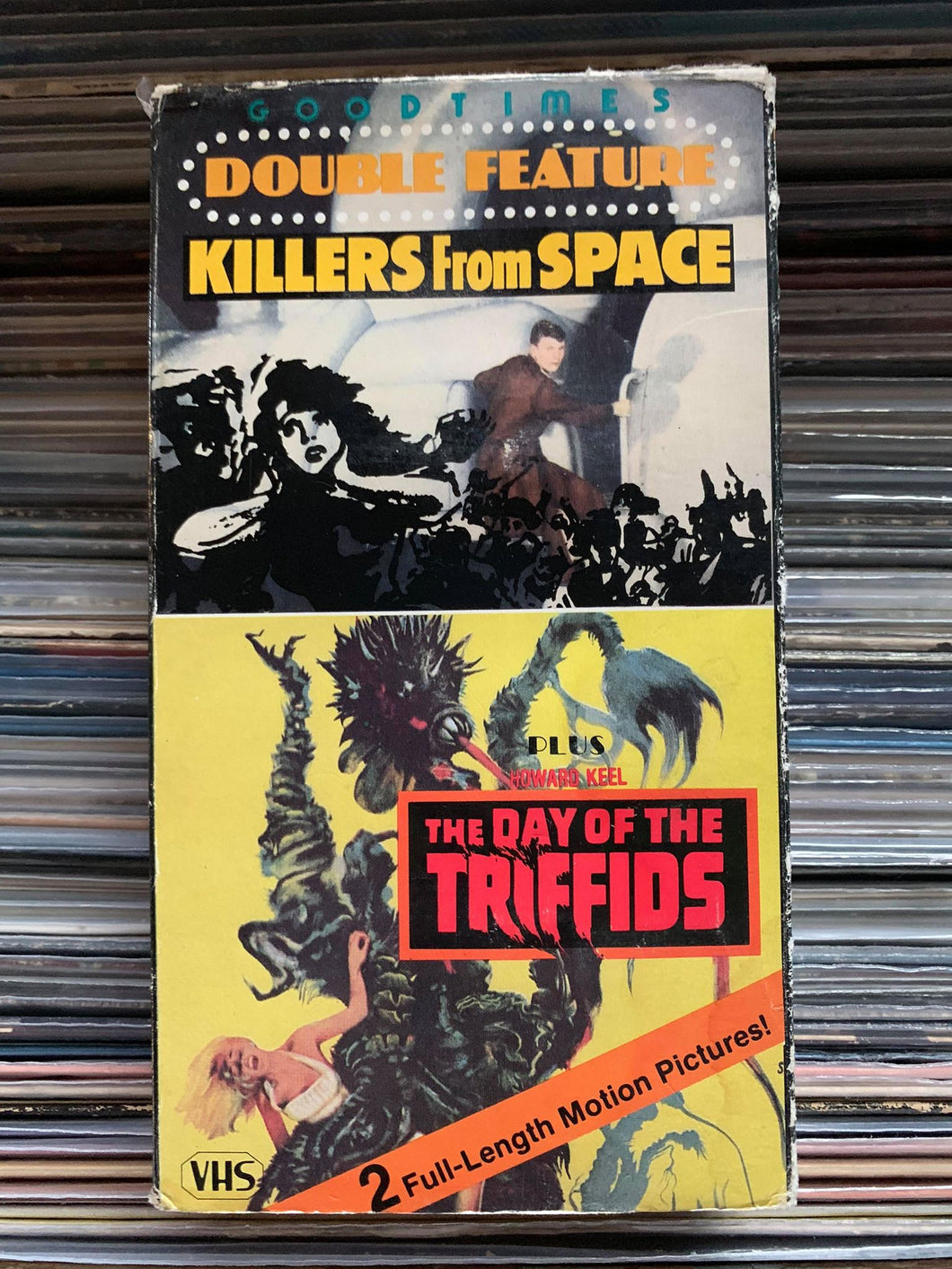 Killers from Space / Day of the Triffids VHS