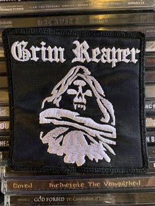 Grim Reaper Embroidered Patch