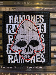 Ramones Embroidered Patch