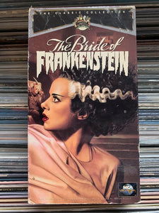 Bride of Frankenstein VHS