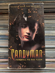 Candyman Farewell to the Flesh VHS