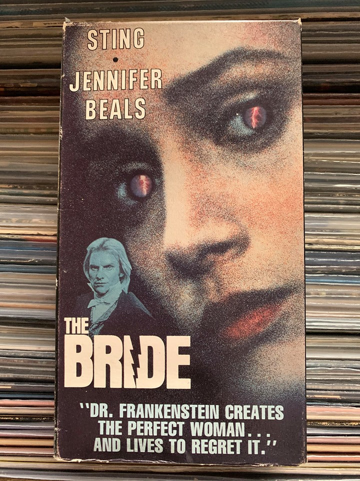 The Bride VHS
