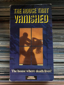 The House that Vanished VHS
