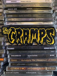 The Cramps Embroidered Patch