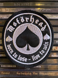 Motorhead Embroidered Patch
