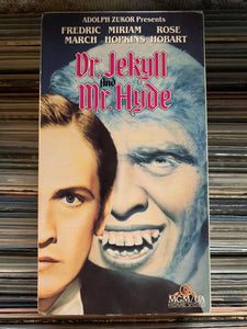 Dr. Jekyll and Mr. Hyde VHS