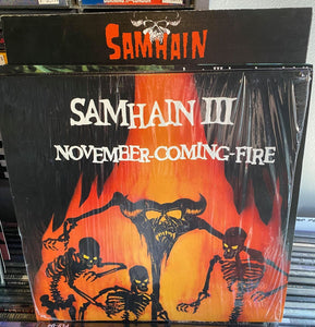 Samhain - November Coming Fire