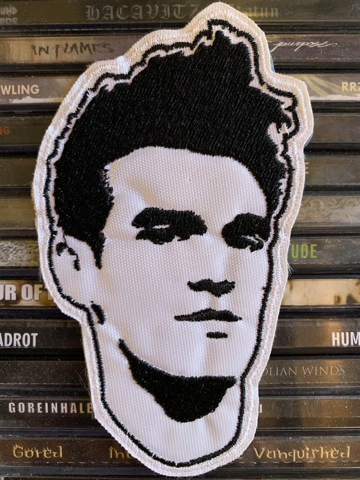 Morrissey Embroidered Patch