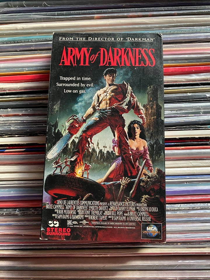 Army of Darkness VHS
