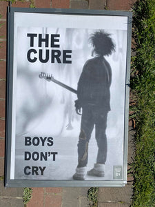 The Cure Boys Don't Cry Poster