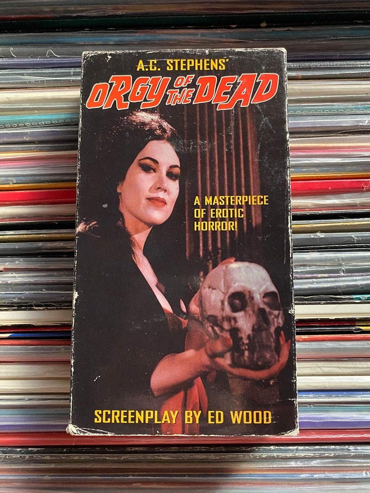 Orgy of the Dead VHS