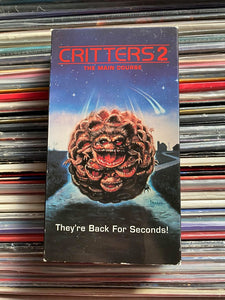 Critters 2 VHS