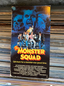 Monster Squad VHS