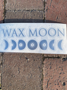 Wax Moon Decal