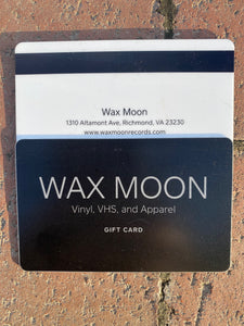 Wax Moon Gift Card
