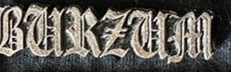 Burzum Metal Badge