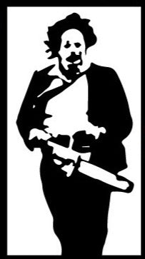 Texas Chainsaw Leatherface Decal