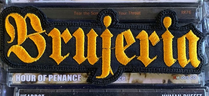 Brujeria Embroidered Patch