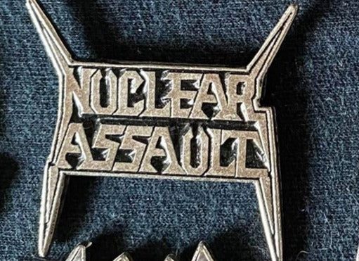 Nuclear Assault Metal Badge