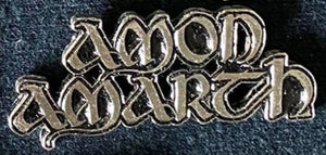 Amon Amarth Metal Badge